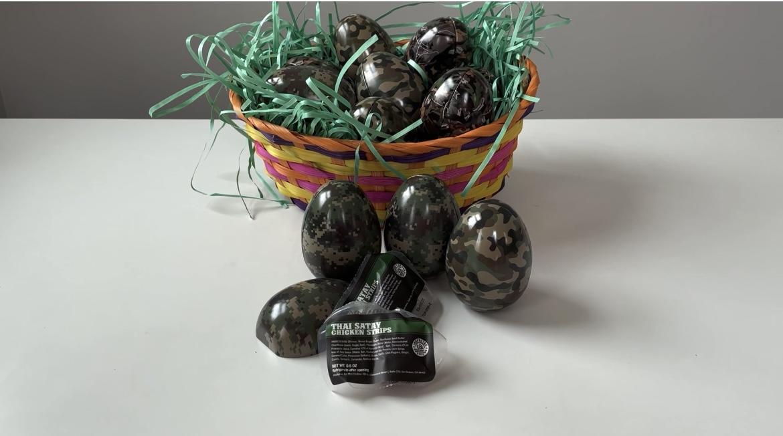 Camo Easter Eggs