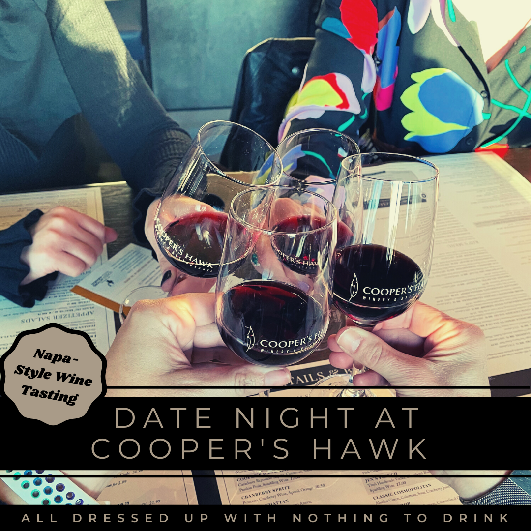 Napa-Style Wine Tasting Date Night at Cooper's Hawk