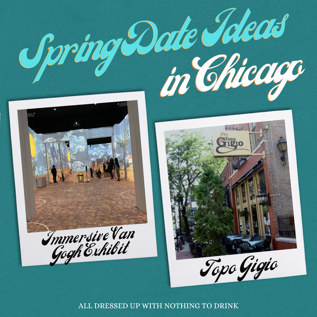 Spring Date Ideas in Chicago: Immersive Art and Old-School Italian Cuisine