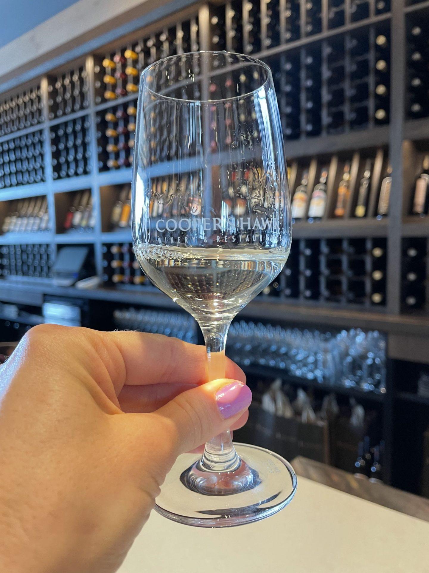 wine tasting glass