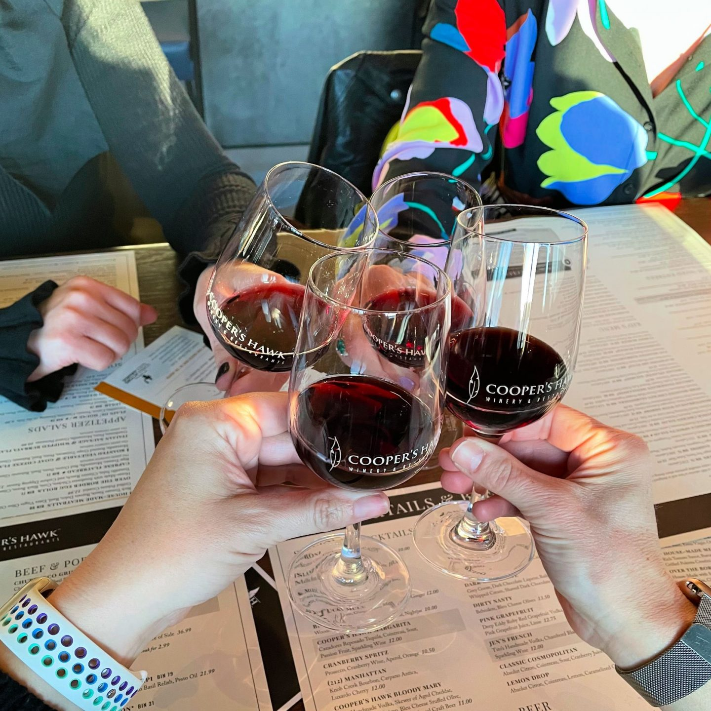 wine date with friends