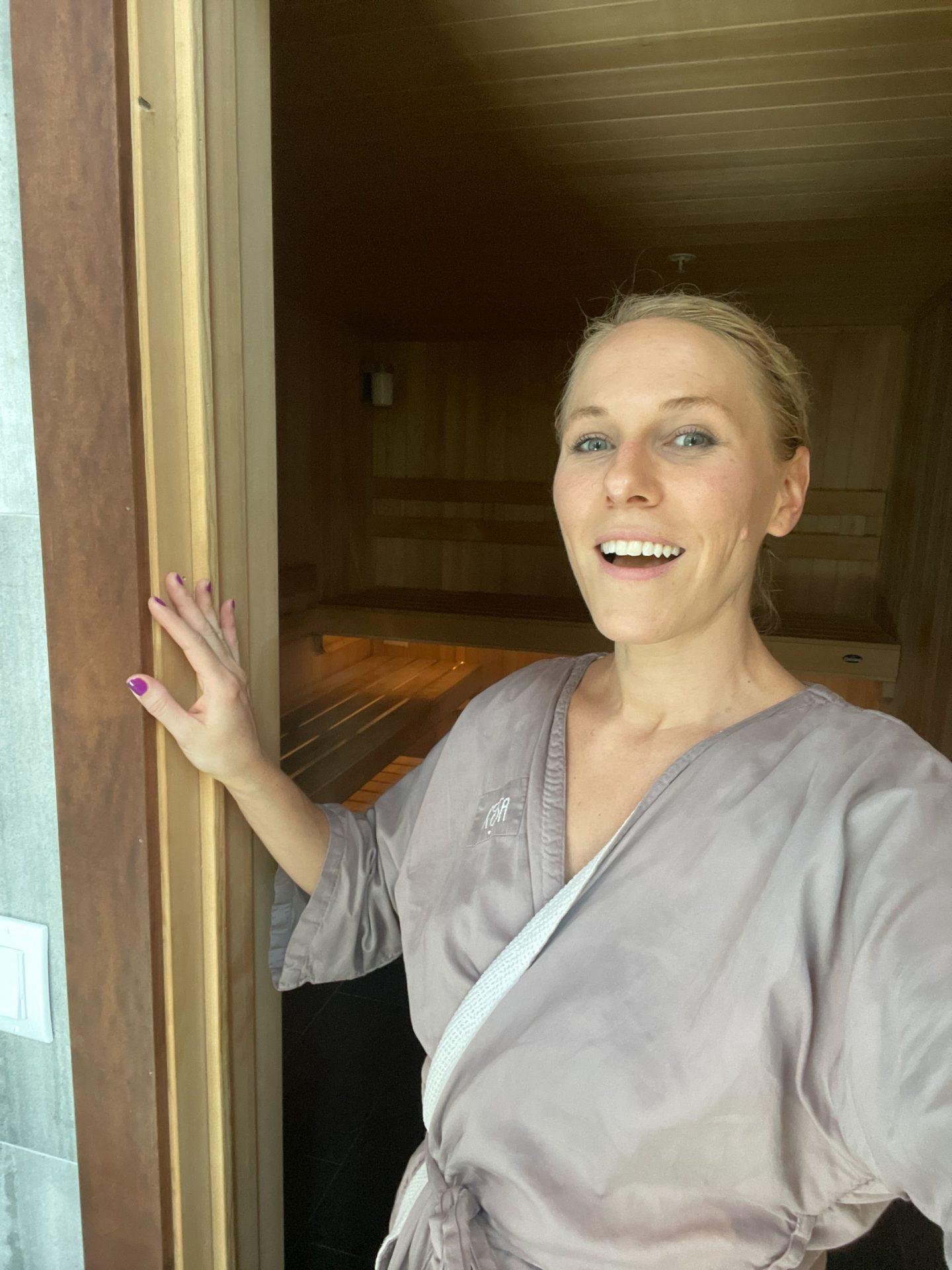 Sauna at Kosa Spa